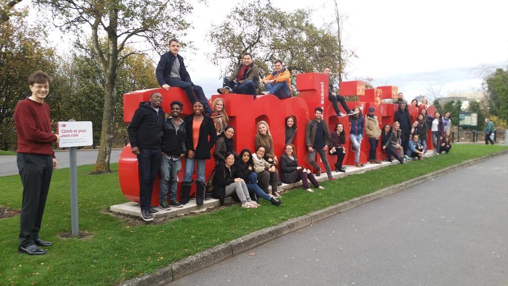 Digital Marketing students Salford Business School