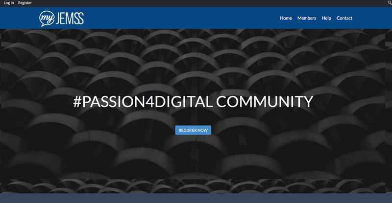 My masters in digital marketing #passion4digital community